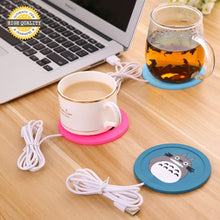 Cartoon 5V USB Warmer Silicone Heater for Hot Beverages