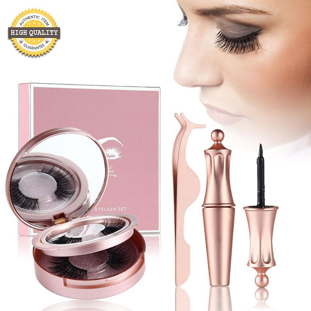 Magnetic Eyelash and Eye Liner Kit