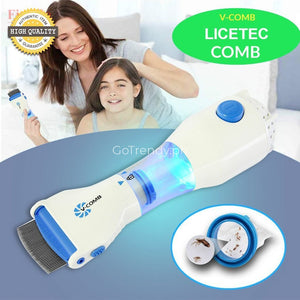 V-Comb Electric Head Treatment For Lice