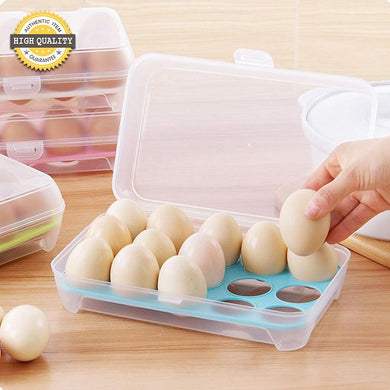 15 Cell Portable Practical Egg Fresh Storage Box