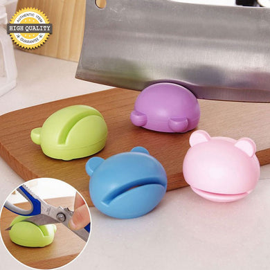 Multi-functional Cartoon Design Mini Knife Sharpener