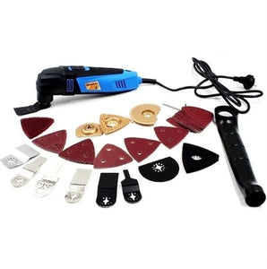 Multifunctional Tools for Carpentry (Scraping, Sanding, Cutting, Sawing and Polishing)