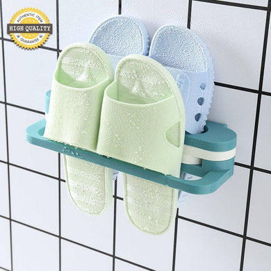 Creative Folding Slippers Shelf