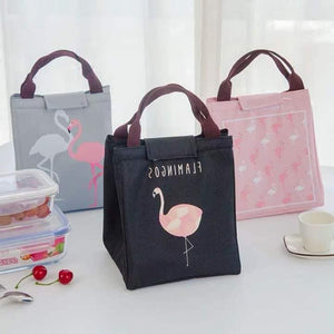 New Flamingo-Themed Insulated Lunch Bag