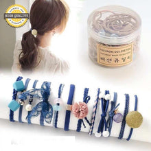 Hair Ties Ponytail Holders (A Variety Of Styles With 12 Pieces Packing)