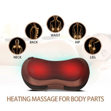 Car And Home Dual-Use All In One Pillow Body Massager