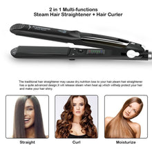 Professional Hair Salon Steam Styler Straightener - Instant Like Rebonding (Trending)