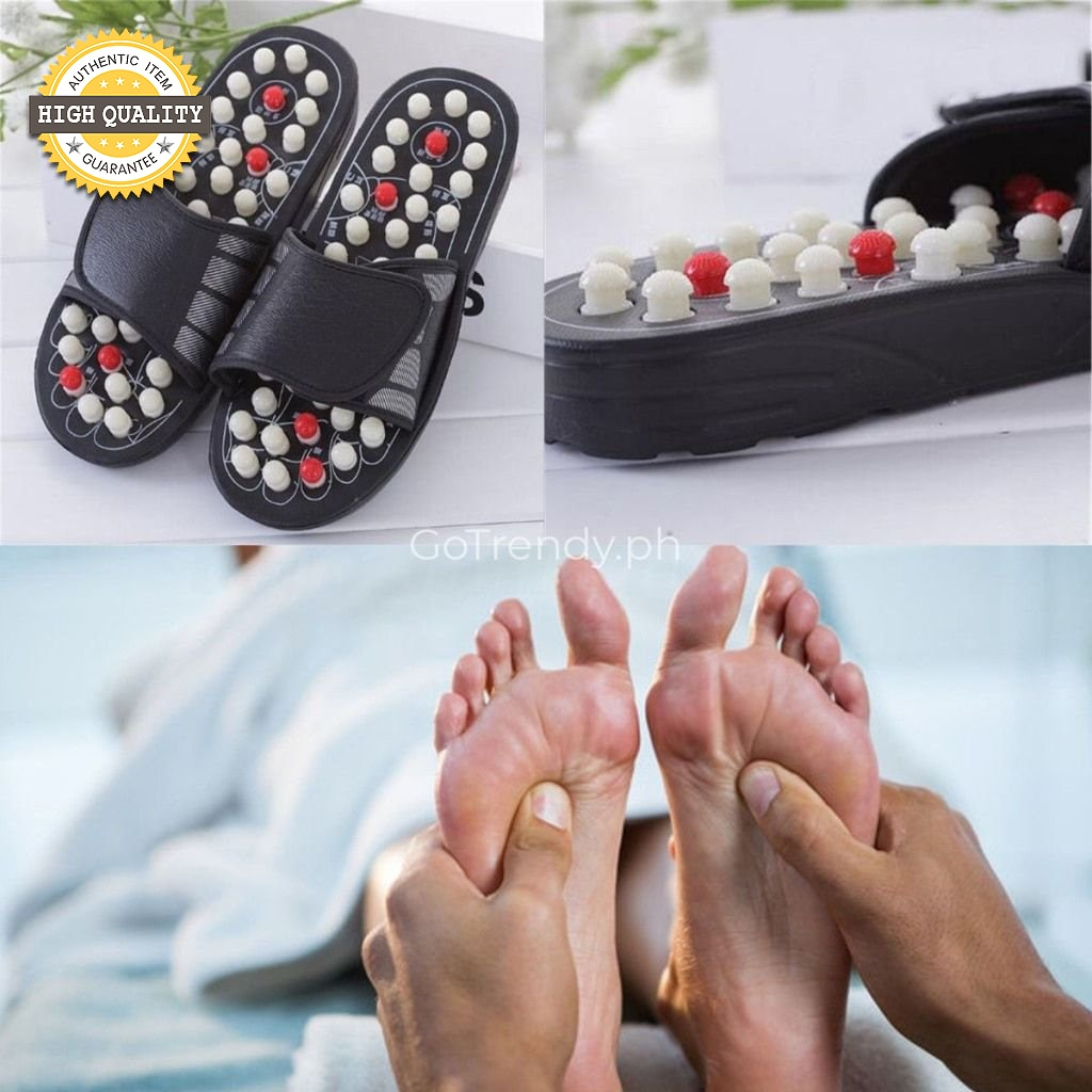64d5f5ff5d28 Acupuncture Massage Reflexology Slippers - Improve Health with the help of  Reflexology Therapy