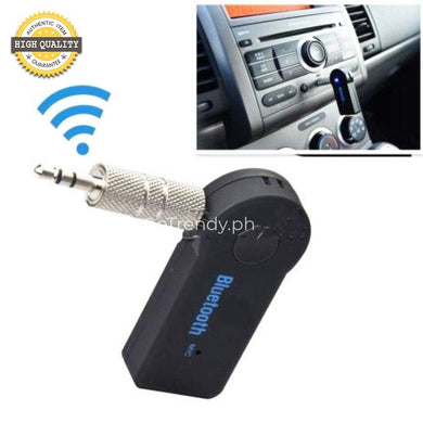 Wireless Aux Bluetooth Audio Receiver - Music Streaming For Cars Home Stereos Headphones
