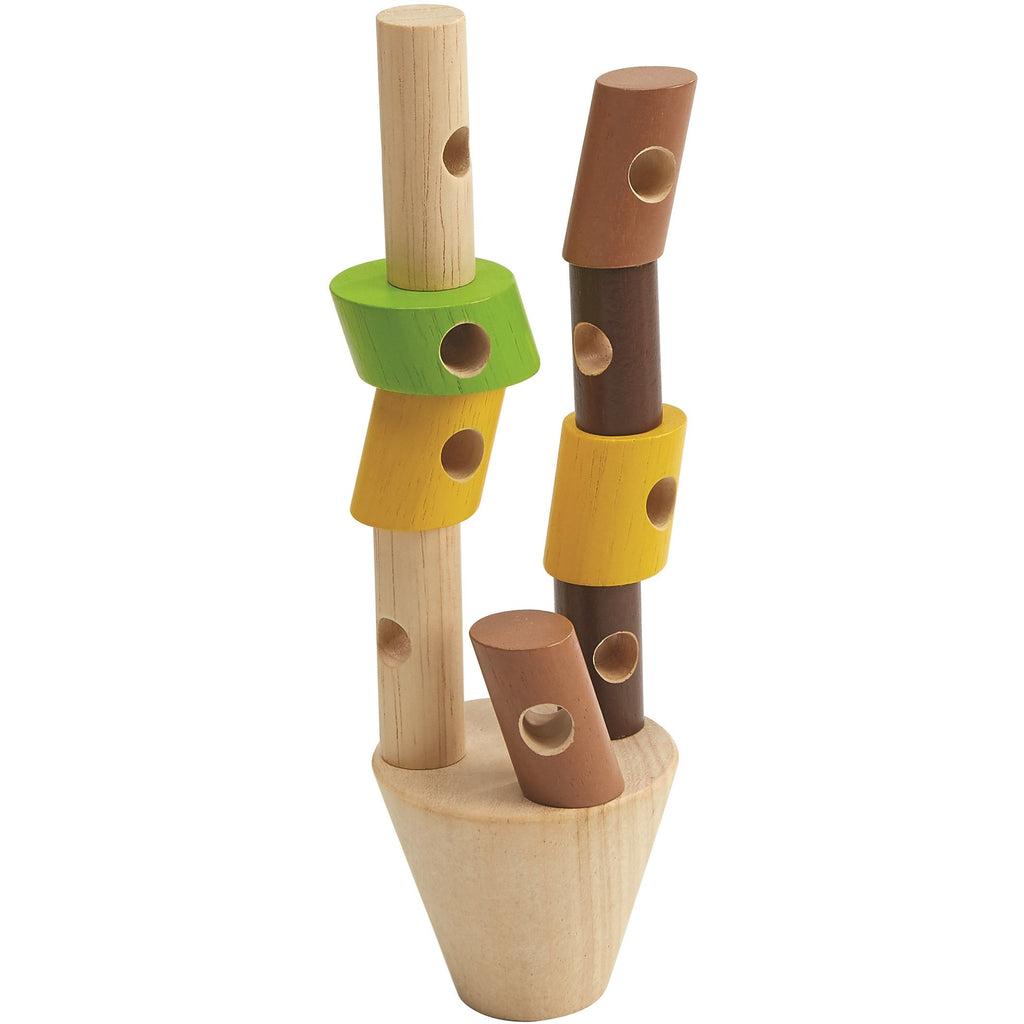 Plan Toys Stacking Logs Game