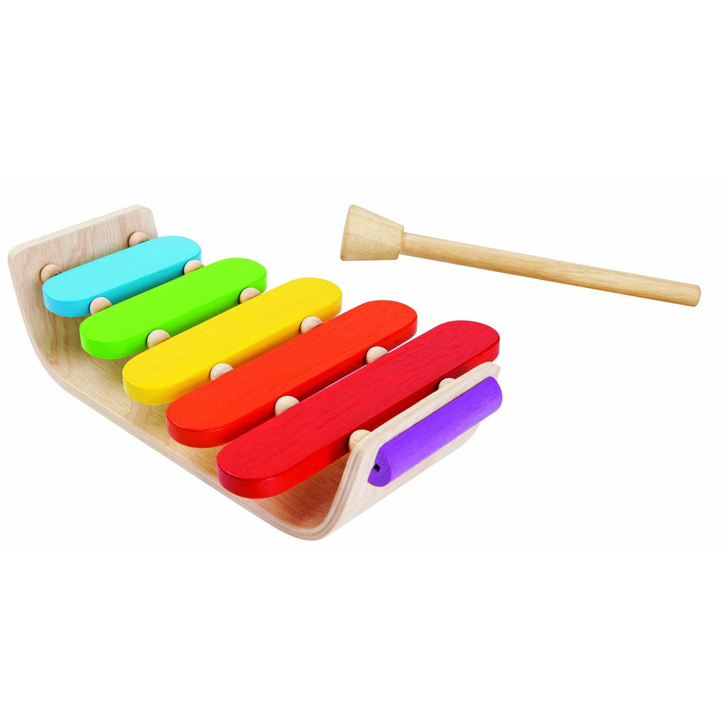 Plan Toys Oval Xylophone for Musical Babies