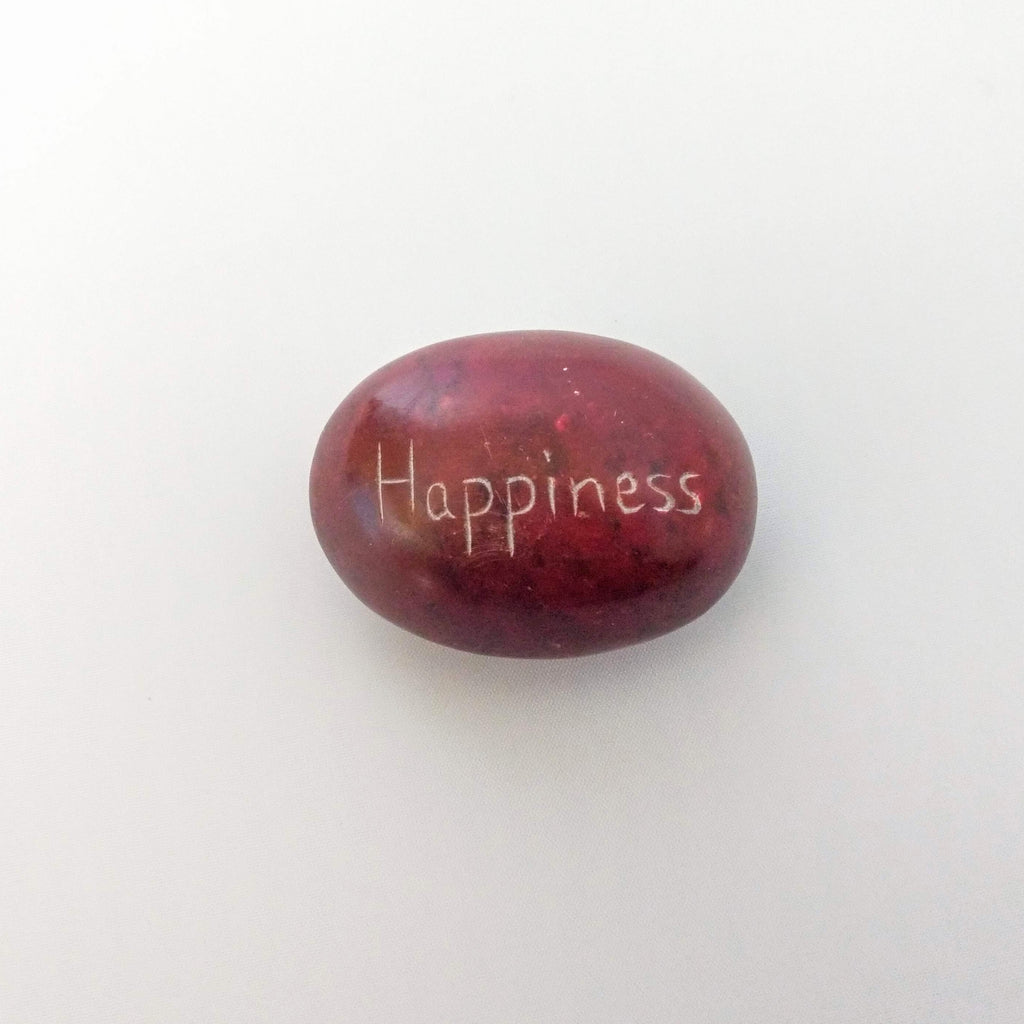 Palewa Sentiment Pebble - Red - Happiness