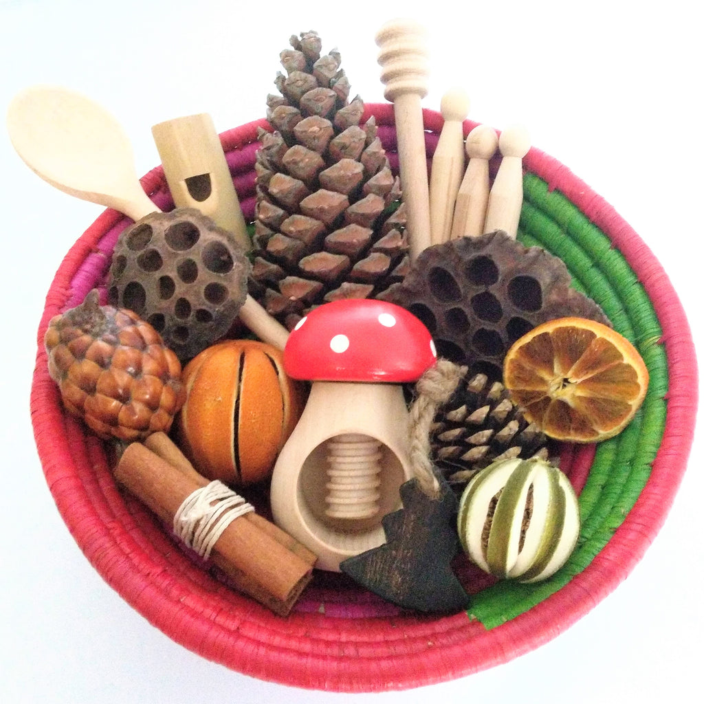Christmas Sensory Basket