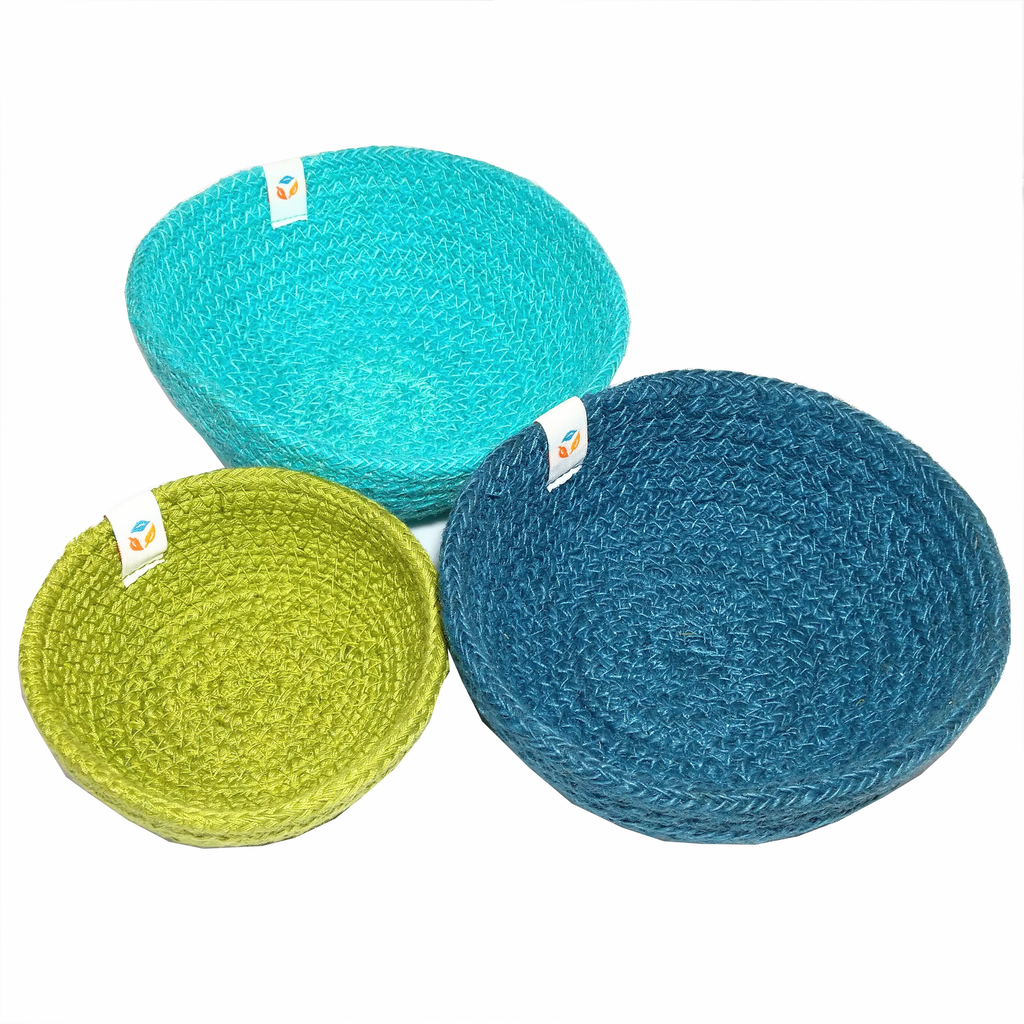 Trio of mini sensory baskets - Ocean