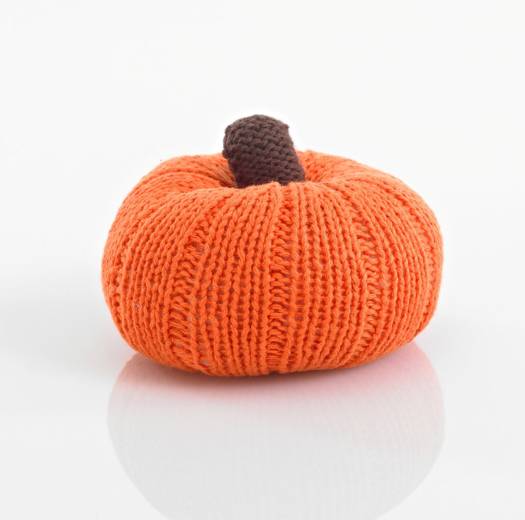 Pebble Pumpkin Rattle