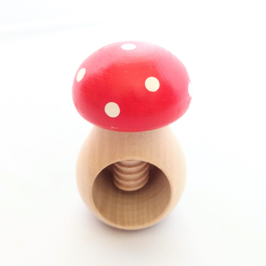Toadstool Nutcracker