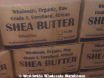 Organic Unrefined Shea Butter Bulk Wholesale.