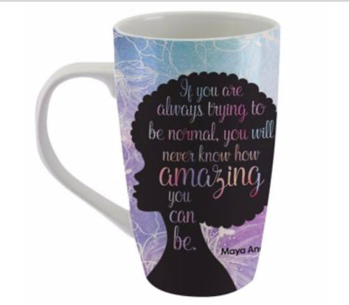 African American Expression Mugs