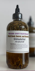 Stimulating Hair Growth Oil With Black Seed, Carrot, and Rosemary
