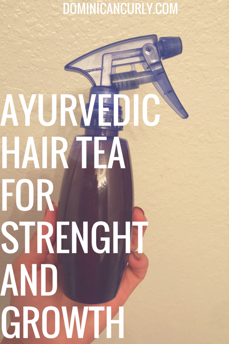 Ayurvedic Hair Tea for Strength and Growth