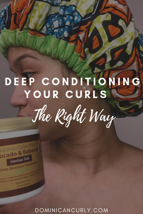 Deep Conditioning Your Curls The Right Way