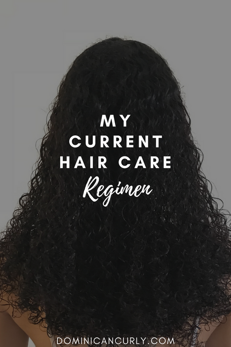 My Current Hair Care Regimen: UPDATED