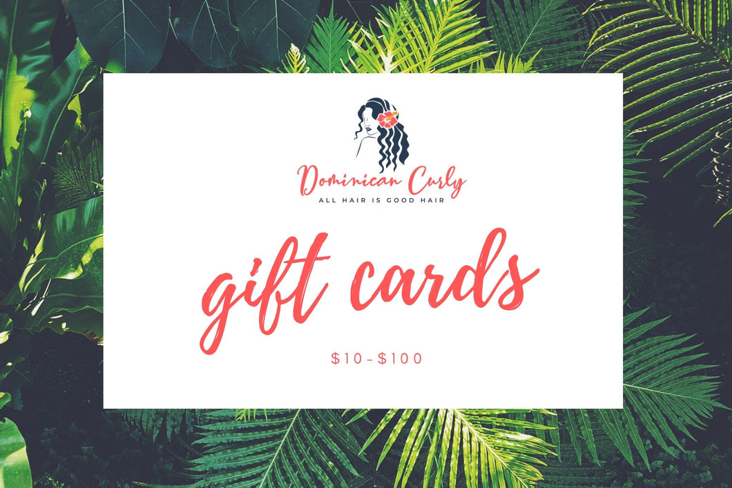 Gift Cards $10-$100