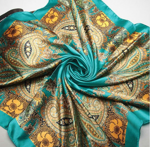 Large Satin Scarves