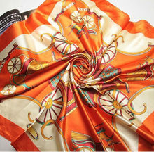 Load image into Gallery viewer, Large Satin Scarves