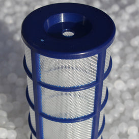 Mesh electrode screen basket