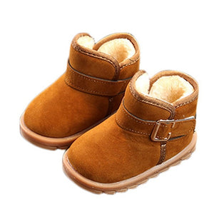 Kids Baby Toddler Warm Plush Fall/Winter Boots