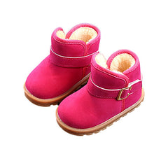 Load image into Gallery viewer, Kids Baby Toddler Warm Plush Fall/Winter Boots