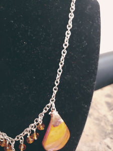 Hand Designed Seashell Necklace