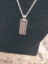 Load image into Gallery viewer, Inspirational Quote Charm Necklace