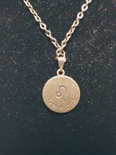 Load image into Gallery viewer, Antique Bronze Zodiac Charm Necklace