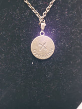 Load image into Gallery viewer, Antique Bronze Zodiac Sagittarius Charm Necklace