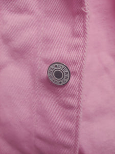 Unisex Kid's Pink Denim Jacket