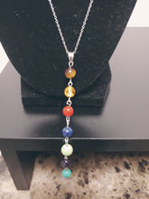 Load image into Gallery viewer, 7 Chakra Stone Necklace