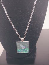 Load image into Gallery viewer, Transparent Bezel Mermaid Necklace