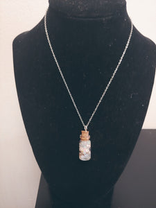 Natural Shimmer Seashell Necklace