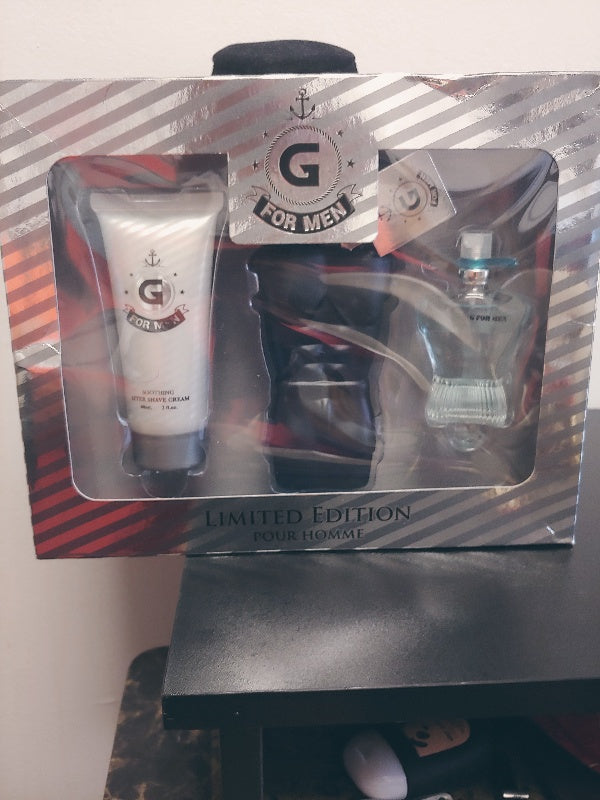 Men Cologne & Shaving Lotion Set