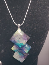 Load image into Gallery viewer, Rainbow Diamond Shape Necklace