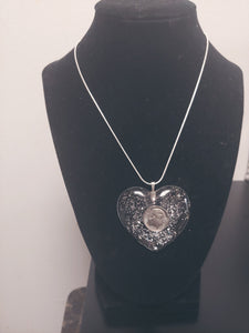 Dime Piece Heart Necklace