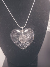 Load image into Gallery viewer, Dime Piece Heart Necklace