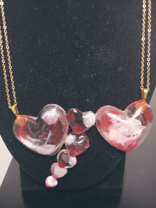 The I Love You This Much Heart Necklace