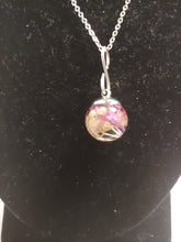 Load image into Gallery viewer, Glass Bud Dome Pendant Necklaces