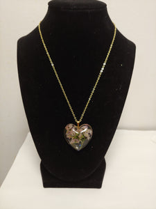 """ I Love You "" Heart Pendant Necklace"