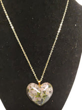 "Load image into Gallery viewer, "" I Love You "" Heart Pendant Necklace"