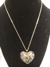 Load image into Gallery viewer, Carnation Heart Pendant Necklace