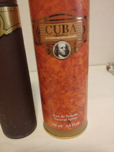 Cuba Gold Cologne by Fragluxe